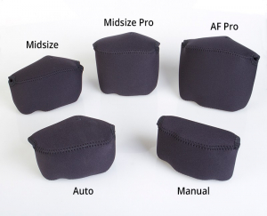 OP/TECH Soft Pouch™ - Body Cover Midsize Black- husa neopren neagra7