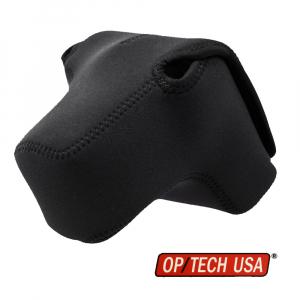 OP/TECH Soft Pouch™ D-Midsize PRO - husa neopren neagra0