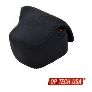 OP/TECH Soft Pouch™ D-Shortie Black - husa neopren neagra [0]