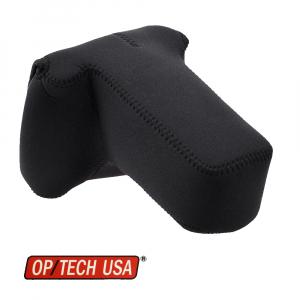 OP/TECH Soft Pouch™ D-SLR Zoom - husa neopren neagra0