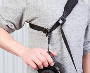 OP/TECH Utility Strap™ - Sling XL Black- Curea de umar ajustabila1