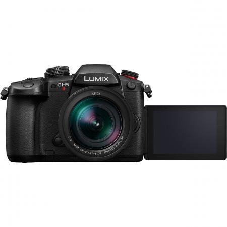 Panasonic  DC-GH5 Mark II negru  -  aparat foto mirrorless hibrid cu obiectiv Lumix G Vario 12-60mm f/3.5-5.6 ASPH. POWER O.I.S [2]
