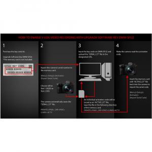 Panasonic DMW-SFU2GU - cod upgrade V-Log pentru Panasonic Lumix DC-S1 [2]