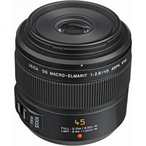 Panasonic Leica DG Macro-Elmarit 45mm f/2.8 ASPH. MEGA O.I.S. - montura M4/3 (MFT) [1]