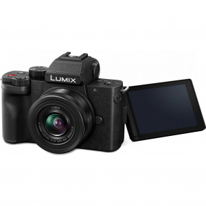 Panasonic Lumix DC-G100V kit G VARIO 12-32 mm f/3.5-5.6 ASPH. MEGA O.I.S. + mini trepied-maner DMW-SHGR18