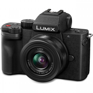 Panasonic Lumix DC-G100V kit G VARIO 12-32 mm f/3.5-5.6 ASPH. MEGA O.I.S. + mini trepied-maner DMW-SHGR16