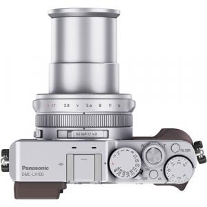 Panasonic Lumix  DMC-LX100 cu filmare 4K -  Silver3