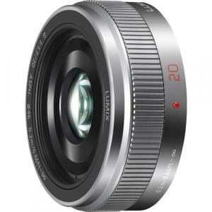 Panasonic Lumix G 20mm f/1.7 II ASPH argintiu - montura m4/3 (MFT)1
