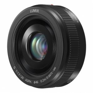 Panasonic Lumix G 20mm f/1.7 II ASPH negru - montura m4/3 (MFT) [0]
