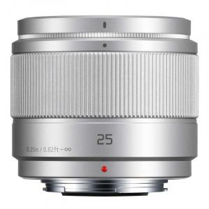 Panasonic Lumix G 25mm f/1.7 ASPH argintiu - montura m4/3 (MFT)0