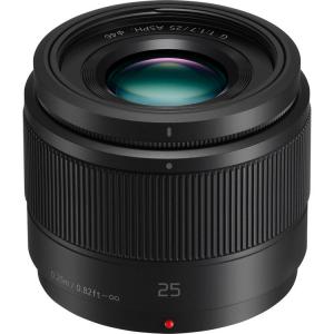 Panasonic Lumix G 25mm f/1.7 ASPH negru - montura m4/3 (MFT)0