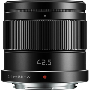 Panasonic Lumix G 42.5mm f/1.7 Power O.I.S. ASPH negru - montura m4/3 (MFT) [1]