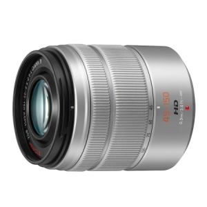 Panasonic Lumix G Vario 45-150mm f/4.0-5.6 ASPH MEGA O.I.S argintiu - montura m4/3 (MFT) [1]