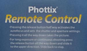 Phottix C6  Small cu fir 1m, pentru Canon DSLR si Olympus OM-D M1 Mark II [1]