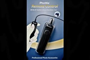 Phottix C8 Small cu fir 1m pt Canon 5D Mk II/ III/ IV/S /R , 7D0