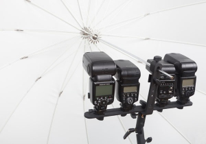Phottix FTx3 Flash bar - suport pentru 5 blitz-uri2