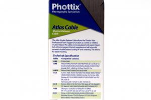 Phottix N10 Atlas cablu declansare aparat foto Nikon D610, D7200, D90, D750 [1]