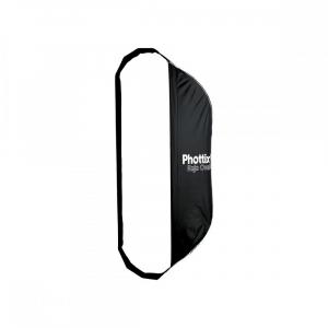 Phottix Raja Oval Quick-Folding softbox 50x120cm + grid + montura Bowens0