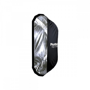 Phottix Raja Oval Quick-Folding softbox 50x120cm + grid + montura Bowens2