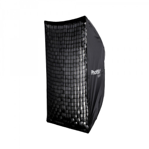 Phottix Raja Quick-Folding Softbox 80x120cm + grid + montura Bowens3