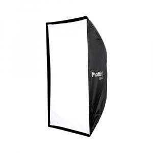Phottix Raja Quick-Folding Softbox 80x120cm + grid + montura Bowens0