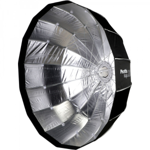 Phottix Raja Quick-Folding Softbox parabolic 120cm + montura Bowens2