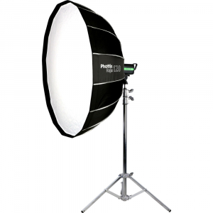 Phottix Raja Quick-Folding Softbox parabolic 120cm + montura Bowens3