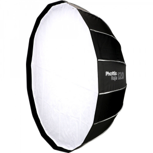 Phottix Raja Quick-Folding Softbox parabolic 120cm + montura Bowens0