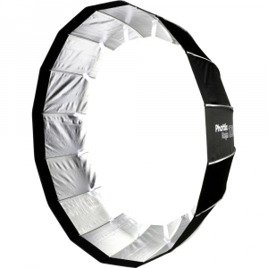 Phottix Raja Quick-Folding Softbox parabolic 120cm + montura Bowens1