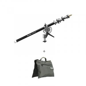 Phottix Saldo 160 + saculet contragreutate M - brat boom pentru stativ 160cm0