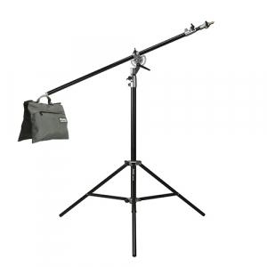 Phottix Saldo 395 - Stativ lumini 395cm cu boom si sac pentru contragreutati0