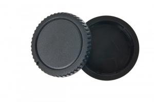Phottix set 2 capace: montura body si obiectiv Sony A1