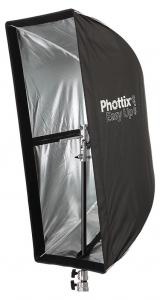 Phottix Softbox portabil, tip umbrela 40cm x 90cm + GRID ,  pentru blitz extern cu patina2