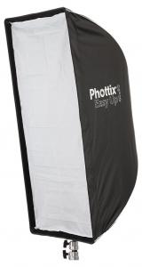Phottix Softbox portabil, tip umbrela 40cm x 90cm + GRID ,  pentru blitz extern cu patina1