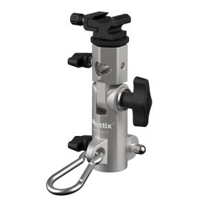 Phottix Varos Pro S - suport umbrela si blitz0