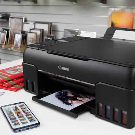 PIXMA G640 - Imprimanta foto format A4, cu rezervoare reciclabile [0]