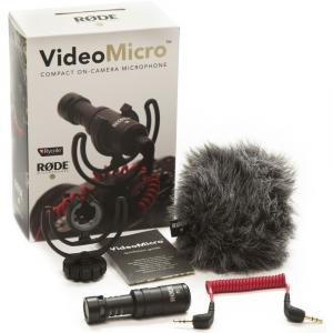 Rode VideoMicro - microfon directional compact, jack standard 3.5mm2