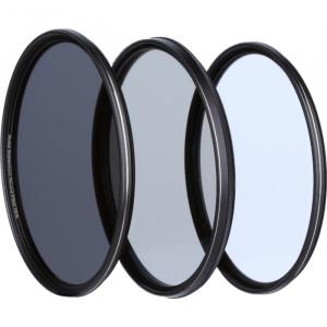 Rollei 55mm Set 3 Filtre (UV / CPL / ND8) Extremium1