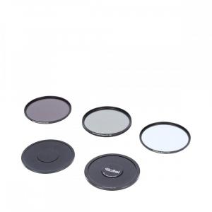 Rollei 55mm Set 3 Filtre (UV / CPL / ND8) PREMIUM1