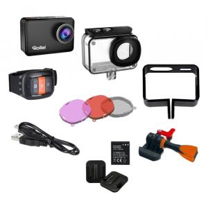 Rollei Actioncam 560 Touch , filmare 4K 60fps 3