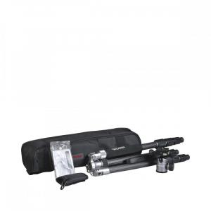 Rollei C5i - Kit trepied + cap cu bila , negru / argintiu5