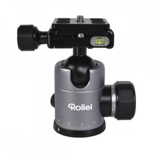 Rollei C5i - Kit trepied + cap cu bila , negru / argintiu1