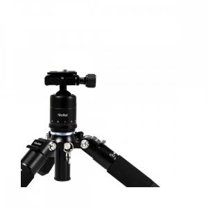 Rollei Compact Traveler Mini M-1 - kit  mini trepied + cap cu bila , negru4