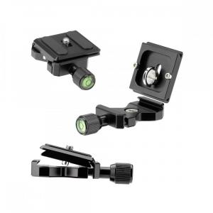 Rollei Compact Traveler No. 1 Carbon -  kit trepied + cap cu bila , negru [7]