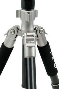 Rollei Compact Traveler No.1 - kit trepied + cap cu bila , negru / argintiu5