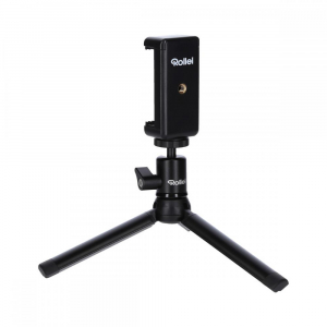 Rollei Smart Photo Selfie Stick cu suport de telefon si mini trepied ,  portocaliu/negru5