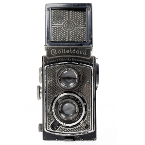 Rolleicord I  Art-deco Nickel plated0
