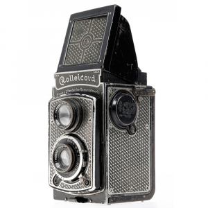 Rolleicord I  Art-deco Nickel plated1