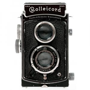Rolleicord II Zeiss Triotar 3,5/75mm4