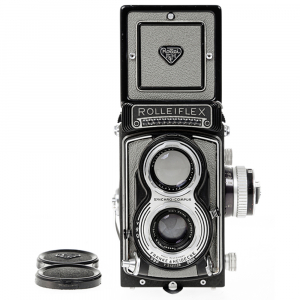 Rolleiflex T- Grey, Carl Zeiss-Tessar 1/3.5 F-75mm0